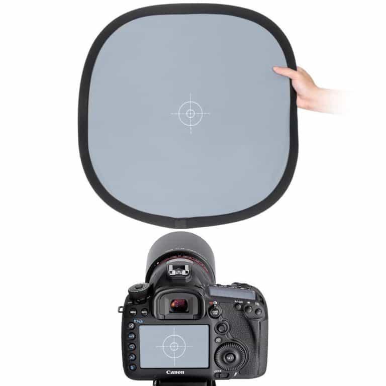 Graukarte mit Kamera