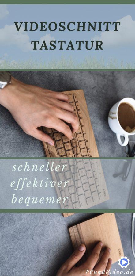 Videoschnitt Tastatur